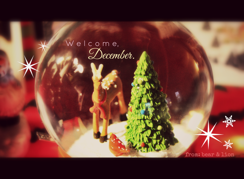 december, the christmas month.