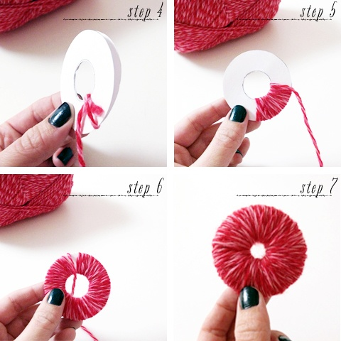 diy pom poms, how to make pom poms, pom pom crafts