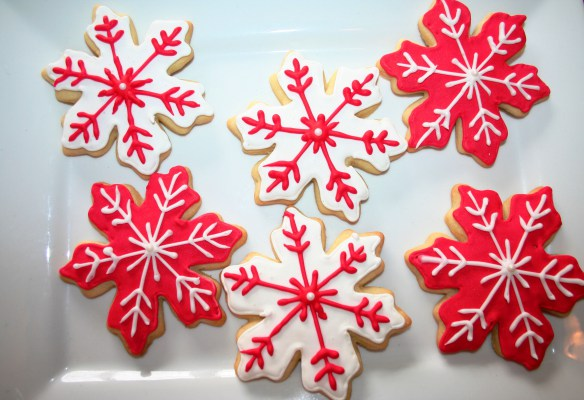 snow flake cookies, christmas cookies, x-mas cookies, holiday cookies
