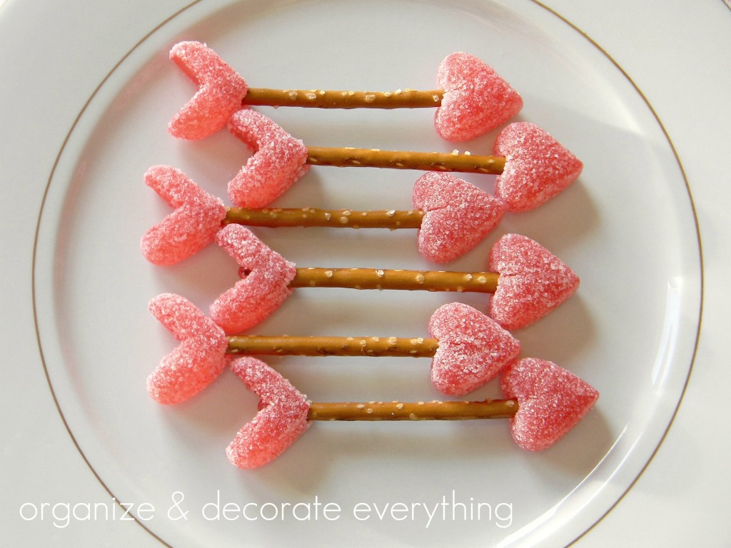 valentine's day, treats, arrows, heart arrows