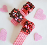 valentine's day, treats, wafers