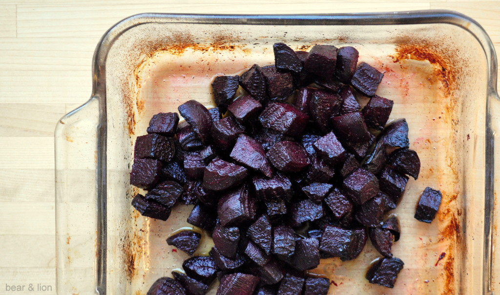 oven roasted beets, healthy dinner, vegetarian