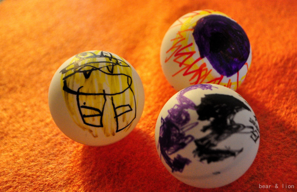 halloween decorations, crafts, ping pong balls