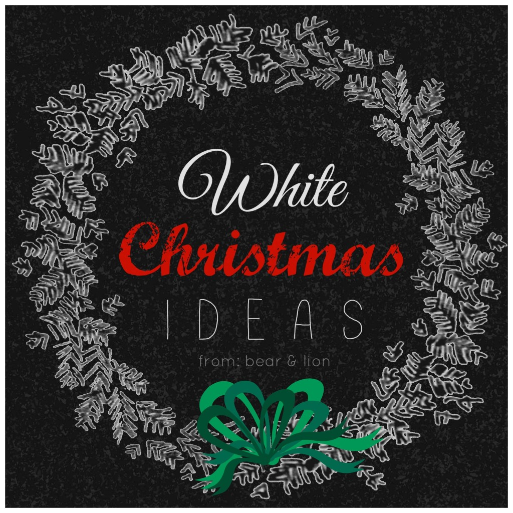 white christmas ideas