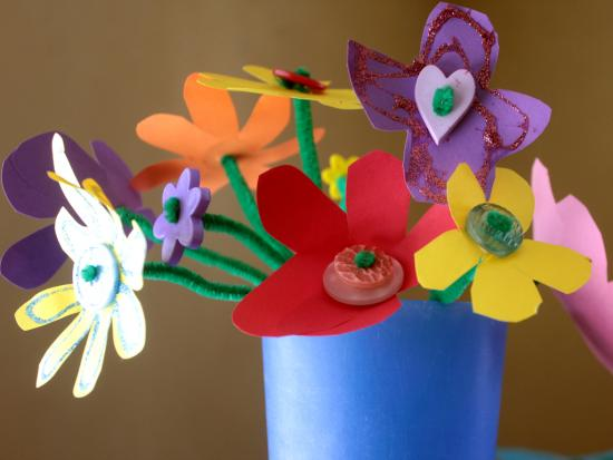 mother's day, flower crafts