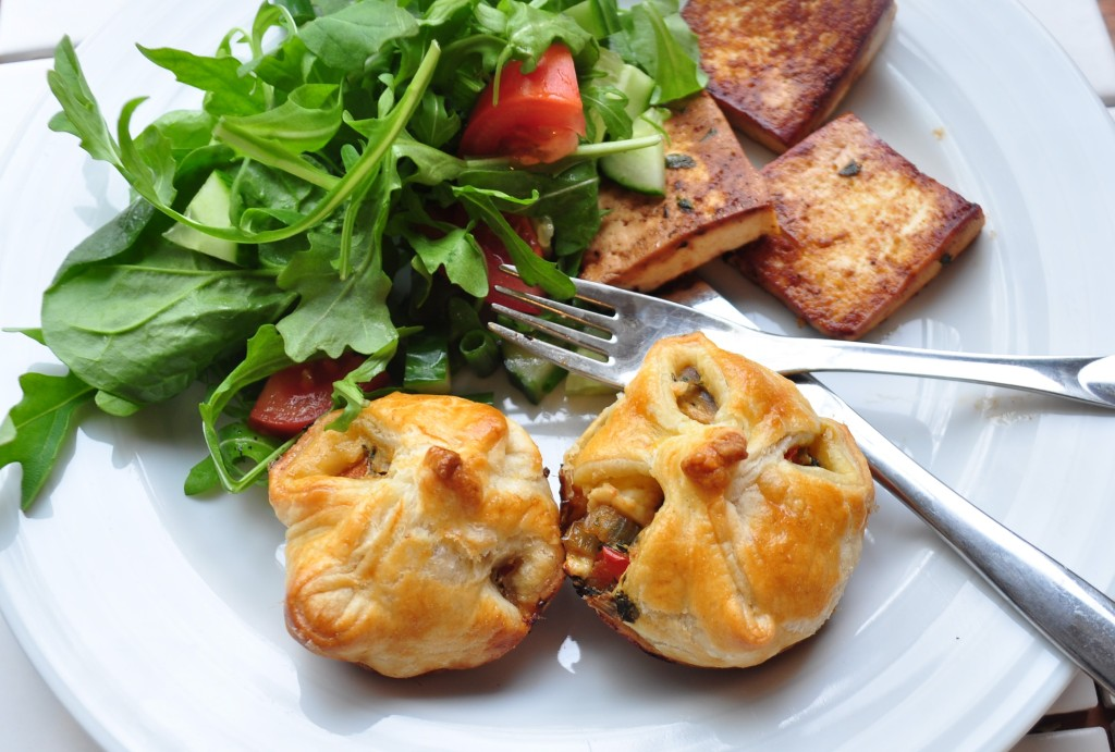 butter puff pastry, vegetable bites, recipe