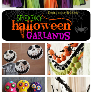 DIY halloween garlands!